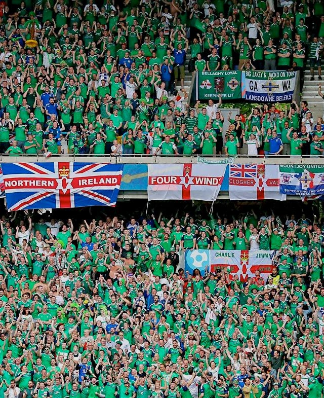 EURO 2016 Northern Ireland fans